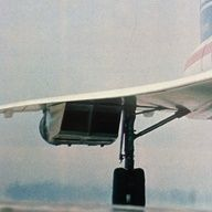 Concorde wing detail.