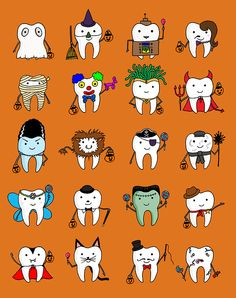 Halloween Tooth Costumes