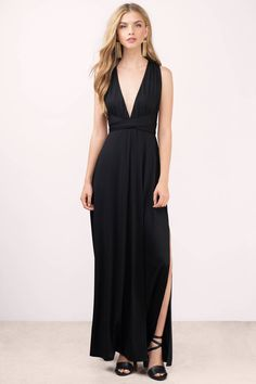 You'll never get bored with the Kylen Multi Way Maxi Dress. Featuring a multi way maxi dress. Pair with statement jewelry and stilettos.  - Fast & Free Shipping For Orders over $50 - Free Returns within 30 days!