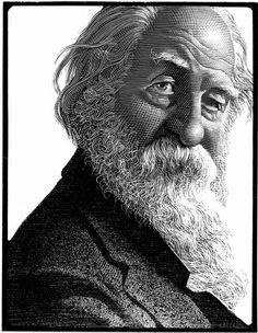 Walt Whitman by Mark Summers