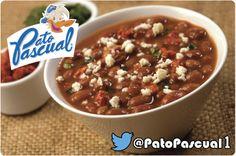 frijoles con Pato Pascual