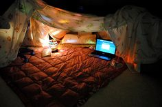 Build a fort and camp out in your living room Thats So Me, Thats The Way, We Heart It, Sweet Home, Build A Fort, Justgirlythings, Totally Me, Tumblr, Perfect Date