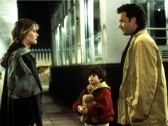 Tom Hanks plays a lonely widower who is, yes, sleepless in Seattle. Annie (Meg Ryan) is a loyal listener to a radio show Hanks' character's son calls in an attempt to help his grieving father find love again. If only these two had cell phones—the whole meeting atop the Empire State Building scene (based on Annie's favorite movie, An Affair to Remember) would have been much less fraught with tension. Then again, where's the fun in that?