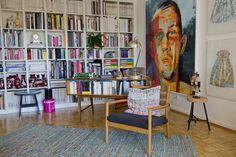 Hausbesuch| Bunte Wohn-Arbeitsoase | hej.de