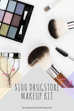 The perfect drugstore makeup kit for beginners and experts alike.