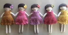 Soft, gentle and cute, this adorable doll is the ideal friend for your little pumpkin. Hancrafted with all-natural materials; handmade dyed wool with natural dyes: pinks and purples were made out of c