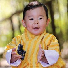 Prince Jigme Bhutan celebrate first birthday