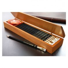 """Special Edition Gift Set Palomino Blackwing Special Edition Gift Set - Proclaimed as the """"Best pencil in the world"""".Palomino Blackwing Special Edition Gift Set - Proclaimed as the """"Best pencil in the world"""". Palomino, School Supplies, Art Supplies, Best Pencil, Pens And Pencils, Pencil Boxes, Pencil Holders, Pen And Paper, Writing Instruments"""