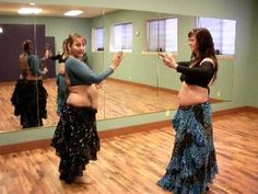 Tribal Moon Belly Dance ATS(r) Drills and Skills