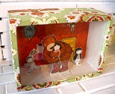 Big love always comes by surprise Box by natascha rosenberg, via Flickr