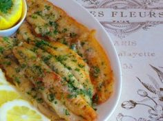Julia Child Recipe for Fillets of Sole Meunière | The Culinary Travel Guide