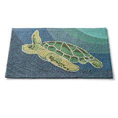 Sea Turtle Accent Rug