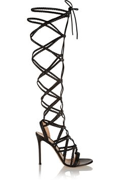 6e04c20edd787 Gianvito Rossi - Braided leather sandals
