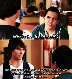 James explicando A Zona De Amigo.