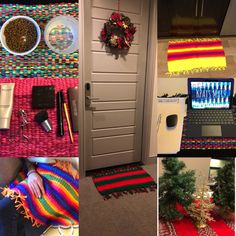 Fun and Unique Handmade Mats and Rugs by kpatsMATS on Etsy