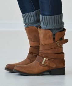Gray boot cuffs - I am really feeling these, just saw some cute ones at Ross. Too bad I live in Phoenix.
