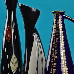 1950's 'Rock'n Roll' Vase by Danuta Duszniak