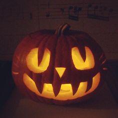 Black Cat Pumpkin Carving