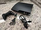 Sony PlayStation 3 Slim PS3 120GB Console Bundle Game System HDMI CECH-2001A