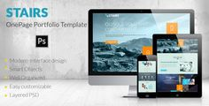 See More Stairs - OnePage Portfolio Templateyou will get best price offer lowest prices or diccount coupone