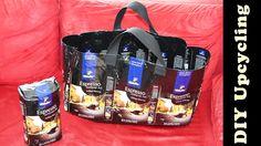 Tasche aus Tchibo - Kaffeeverpackung nähen | Upcycling & DIY