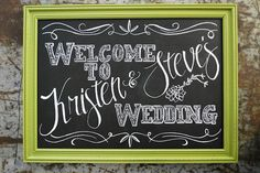 I am totally in love with chalkboard's lately and to find out they have chalkboard ink pens/markers!  Umm I love this!