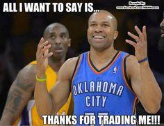Derrick Fisher #Lakers #Thunder