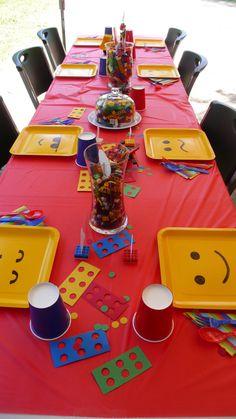 Lego Party - cute ideas