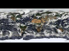 Este impressionante wallpaper do espaço é amplamente baseado em observações do Moderate Resolution Imaging Spectroradiometer (MODIS) - um sensor a bordo do satélite Terra - feitas a 11 de julho de 2005.