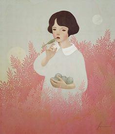 Digital paintings by Jiwoon Pak | http://ineedaguide.blogspot.com/2015/04/jiwoon-pak-update.html | #illustrations