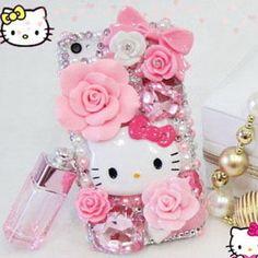 Hello kitty apple i phone 5 cases