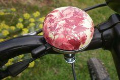 Romantikus rózsás bicikli csengő , Mindenmás, Meska
