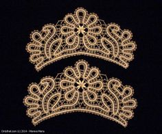 Lace Cuffs - Vologda bobbin lace