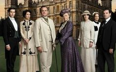 The Crawley Family of Downtown Abbey.
