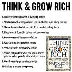 Laws Of Success By Napoleon Hill Summary unlike Laws Of Success By Napoleon Hill In Hindi Pdf little Napoleon Hill Quotes Strength And Growth underneath Home Business Ideas From Garage toward Home Business Ideas 2019 Robert Kiyosaki, Business Motivation, Business Quotes, Business Tips, Motivation Success, Quotes Motivation, Online Business, Bill Gates, Tony Robbins