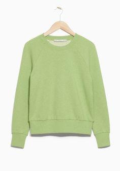 & Other Stories   Raglan Sleeve Sweatshirt