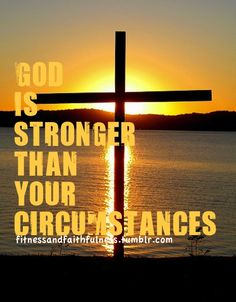 God is stronger