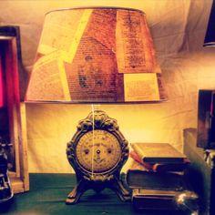 The 1900 Old balance, Haushaltswaage, DIY Lamp