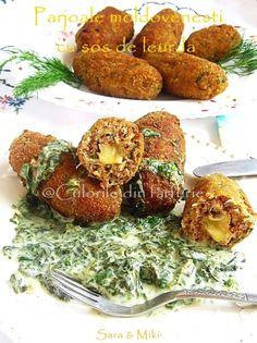 » Parjoale moldovenesti cu sos de leurdaCulorile din Farfurie