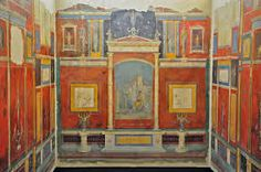 Image result for roman wall painting