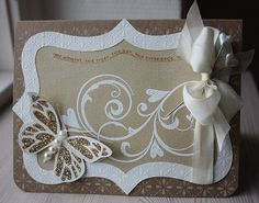handmade wedding invitation - just love it
