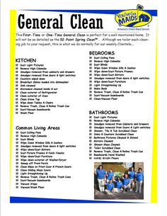 9 Best Images of Maid Service Checklist Printable - House Cleaning Service Checklist, Residential House Cleaning Checklist and Printable House Cleaning Checklist Template Cleaning Checklist Printable, House Cleaning Checklist, House Cleaning Services, Diy Cleaning Products, Cleaning Hacks, Office Cleaning, Deep Cleaning, Cleaning Flyers, Spring Cleaning