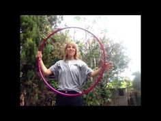 A hula hoop tutorial broken down into sections. Starting with a sweep behind the back, moving into a fold, adding a smear and then arm and head movements to ...