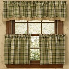 Country Valances at Wheaton's