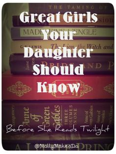 In this case I'm the daughter but yes these are wonderful books.