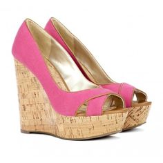 Sole Society Pandora open toe wedge and other apparel, accessories and trends. Browse and shop 29 related looks. Crazy Shoes, Me Too Shoes, Pink Wedges, Summer Wedges, Just Keep Walking, Mode Shoes, Shoe Boots, Shoe Bag, Shoe Closet