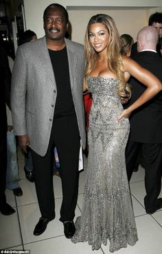 Beyonce and Daddy Knowles