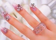 nail jewelry - Google Search