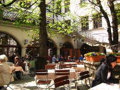 Hofbrauhaus Beer Courtyard