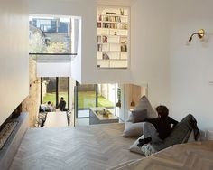 Scenario Architecture have opened up the interior of their Victorian terraced house in north London and added a glazed extension at the rear